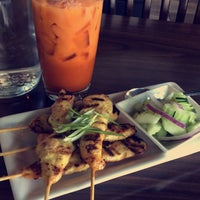 Photo taken at Mango Thai Cuisine & Bar by The Adventures of B. on 9/27/2016