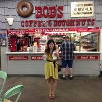 Photo taken at Bob's Coffee & Doughnuts by Pia V. on 9/1/2013
