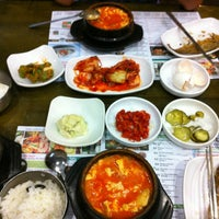 Photo taken at BCD Tofu House by Pia V. on 7/28/2013