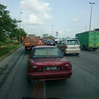 Photo taken at Pasir Gudang Highway by Sham A. on 4/24/2014