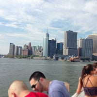 Photo taken at Governors Island Ferry by Michael J. on 7/21/2013