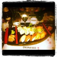Photo taken at Okinawa Sushi by Elise R. on 9/19/2012