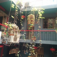 Photo taken at Shuyuan Youth Hostel Xi'an by Seraphina T. on 5/17/2014