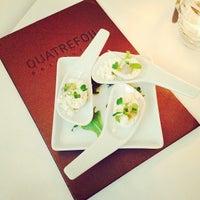 Photo taken at Quatrefoil Restaurant by Mark D. on 3/29/2014