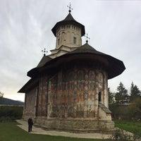 Photo taken at Biserica Mânăstirii Moldovița by Alina on 10/8/2017