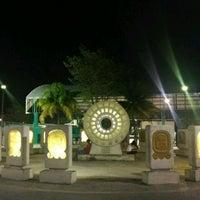 Photo taken at Parque del Centro Ceremonial Maya by jaonitsu on 4/5/2017