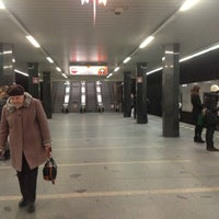 Photo taken at Metro =C= I. P. Pavlova by Elena M. on 2/9/2013