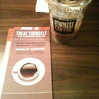 Photo taken at Minuti Coffee by Elvia F. on 11/24/2012