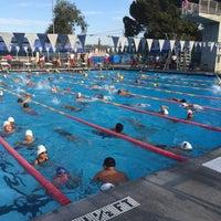 Photo taken at Van Nuys Sherman Oaks Pool by Dan P. on 7/26/2014