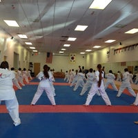 Photo taken at Majest Martial Arts, Taekwondo by Anne S. on 4/27/2014