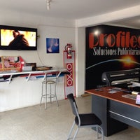 Photo taken at Profiles-soluciones publicitarias (malecon) by Pedro G. on 6/27/2014