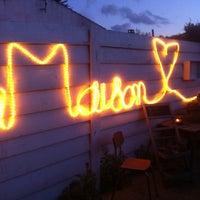 Photo taken at La Maison by Manuel S. on 5/9/2013