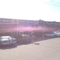 Photo taken at Orange Street Food Farm by Valerie B. on 9/22/2014