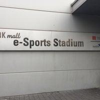 Photo taken at 용산 e스포츠 스타디움 (Yongsan e-Sports Stadium) by 카이젠 김. on 9/5/2015