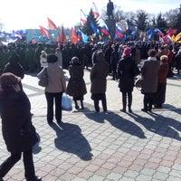 Снимок сделан в Площадь Ленина пользователем Олег I. 3/16/2015