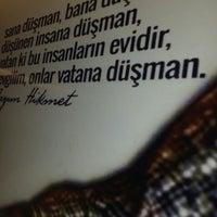Photo taken at Edebiyat ve Sanat Severler Lokali by Songül D. on 2/7/2016