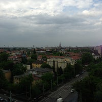 Photo taken at Hermina Tower A by András B. on 5/7/2013