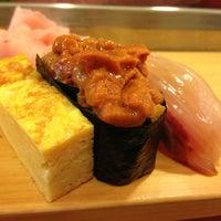 Photo taken at Daiwa Sushi by Hitomi O. on 3/9/2013