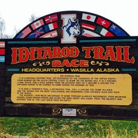 Photo taken at Iditarod Race Headquarters by Robert F. on 11/2/2013