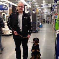 Photo taken at Lowe's Home Improvement by Robert F. on 3/14/2014