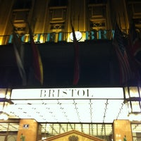 Photo taken at Hotel Bristol by Aleksandar A. on 10/5/2012