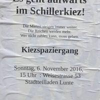 Photo taken at Schillerkiez by Punk I. on 10/26/2016