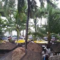 Photo taken at Villa del Prado Pool and Beach Resort by Rain T. on 11/8/2013