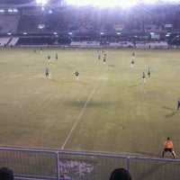 Photo taken at Estadio Municipal Castalia by Daniel P. on 8/24/2013