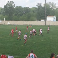 Photo taken at A. A. Garthwaite Stadium by Delicacheena on 5/17/2014
