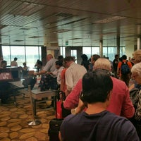 Photo taken at Gate F60 by Linh V. on 3/20/2016