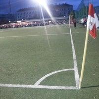 Photo taken at Sportclub Wiener Viktoria by Muhammed E. on 4/25/2014