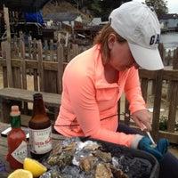 Photo taken at Hog Island Oyster Farm by Brian M. on 7/24/2013