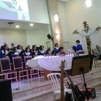Photo taken at Igreja Presbiteriana de Vila Formosa by Mauricio D. on 6/1/2014