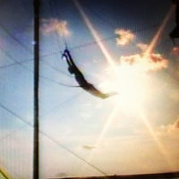 Photo taken at Trapeze School New York by Renee F. on 7/11/2013