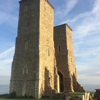 Photo taken at Reculver Towers and Roman Fort by Adam B. on 8/14/2017