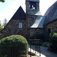 Photo taken at Union Church of Pocantico Hills by Nataly O. on 9/9/2017