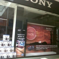 Photo taken at Sony Store by jorge z. on 10/1/2012