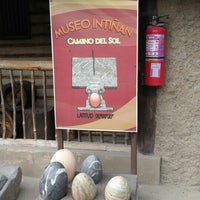 Photo taken at Museo de sitio Intiñán by Daniela K. on 7/4/2016