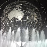 Photo taken at The Unisphere by Enrique F. on 9/2/2013