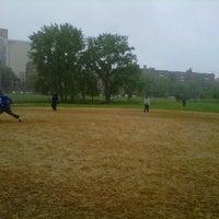 Photo taken at Kissena Park Softball Fields by Enrique F. on 5/19/2013