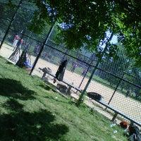 Photo taken at Kissena Park Softball Fields by Enrique F. on 6/23/2013