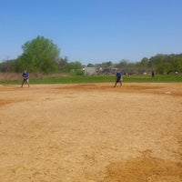 Photo taken at Kissena Park Softball Fields by Enrique F. on 5/11/2014