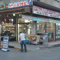 Photo taken at Sevil Market by Emre D. on 5/26/2014