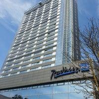 Photo taken at Radisson Blu Latvija Conference & SPA Hotel by John on 7/12/2013