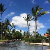 Photo taken at Koloa Landing Resort Pool by Aaron on 7/16/2014