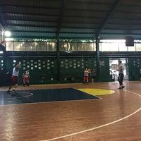 Photo taken at West Triangle Basketball Court by Kerwan M. on 1/27/2018