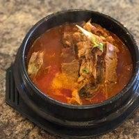 Photo taken at Kim Baek Korean Restaurant by 마크 Lester C. on 4/5/2017