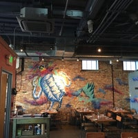 Photo taken at Right Proper Brewing Company by Cesar C. on 2/24/2017