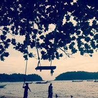Photo taken at Teluk Dalam Beach Resort by Zate A. on 4/26/2014