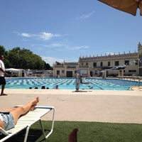 Photo taken at USD Pool Complex by Chantalle S. on 7/4/2014